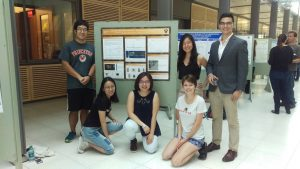 Summer students present research at poster session