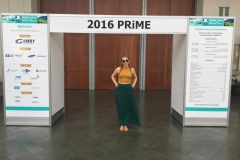 Jessica at the 2016 PRiME Conference in Hawaii.