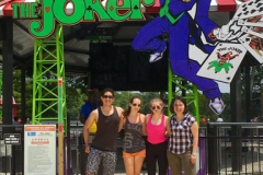 Lab outing to Six Flags Great Adventure.