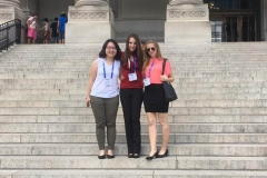 Hsinya, Aubrey, and Jessica at the 2016 ACS Philly Conference.