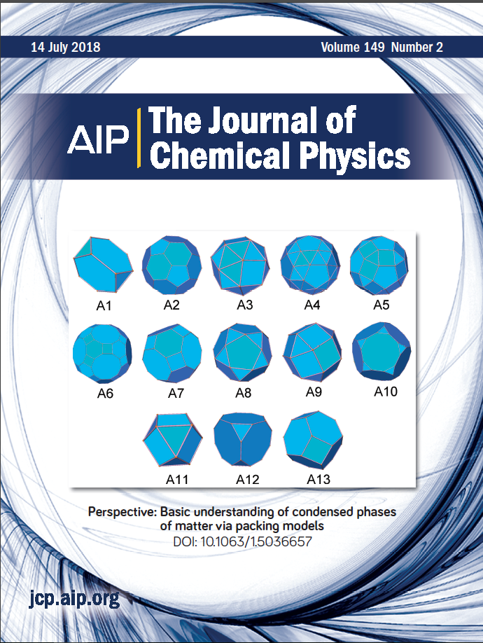 """Perspective: Basic Understanding of Condensed Phases of Matter via Packing Models"" is published in The Journal of Chemical Physics"