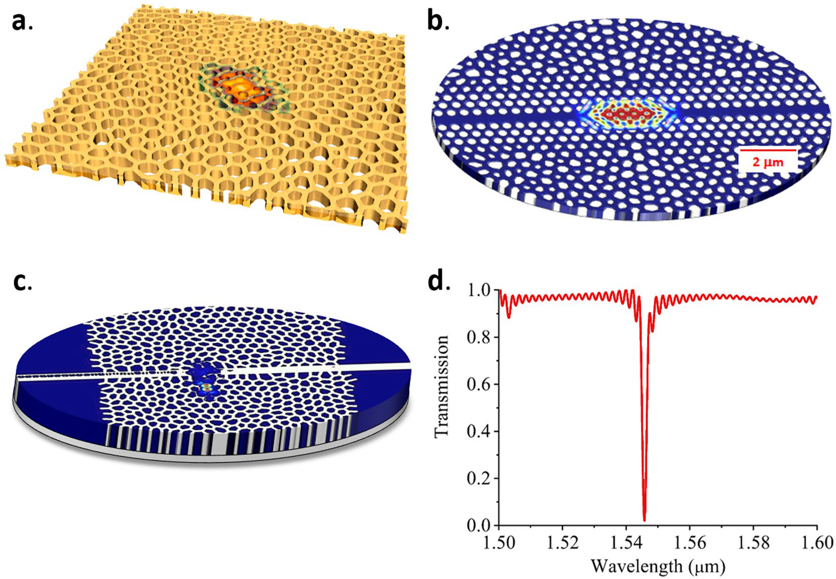 """Hyperuniform Disordered Waveguides and Devices For Near Infrared Silicon Photonics"" is published in Scientific Reports"